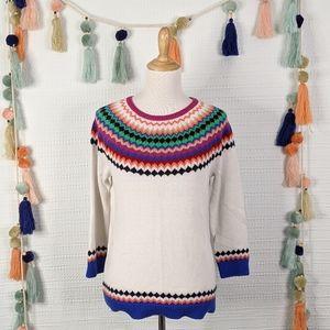 Talbots Fair Isle Sweater